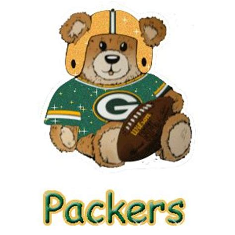 animated green bay packers glitter graphics misc