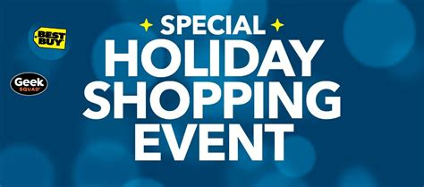 Best Buy Instore Holiday Shopping Event Announcement