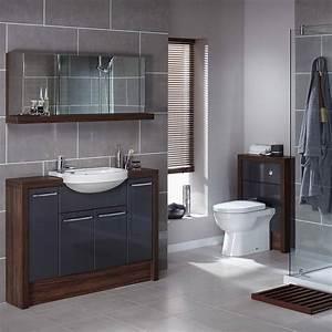 28+ [ Gray Bathroom Decorating Ideas ] Modern Grey