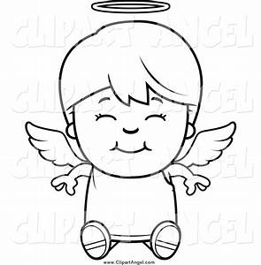 Illustration Vector Cartoon of a Black and White Happy ...