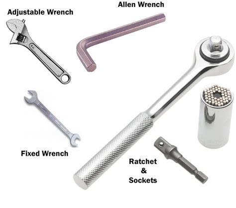 Spanners Types Of Spanners And Wrenches