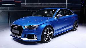 Audi Rs3 Sedan : 2018 audi rs 3 sedan first look 2016 paris motor show youtube ~ Medecine-chirurgie-esthetiques.com Avis de Voitures
