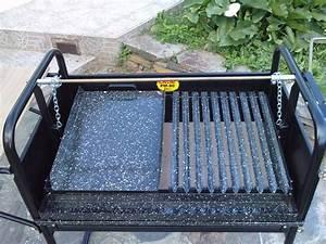 Grille Barbecue Sur Mesure : grille barbecue sur mesure manivelle frontale et plancha ~ Dailycaller-alerts.com Idées de Décoration