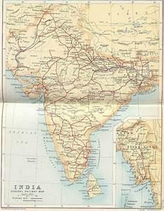 Irfca Indian Railways Faq Railway Map Of India 1893