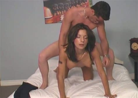 Sexy Tanned Brunette Works On A Cock And Enjoys Hot