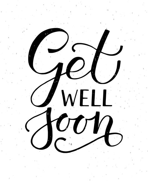 Get Font From Image Get Well Soon Typography Card By Alps View On