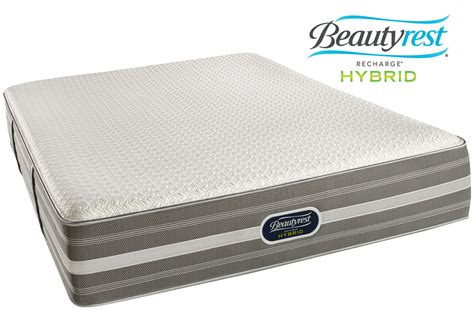beautyrest recharge mattress beautyrest 174 recharge 174 hybrid 174 marlee mattresses collection