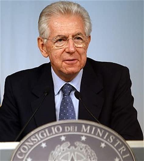 Il Presidente Consiglio Dei Ministri by Il Consiglio Dei Ministri Approva Il Def Monti Quot Meno