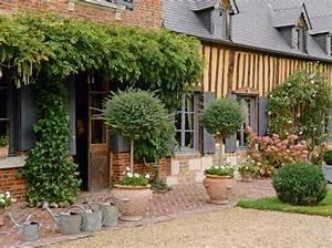 Terrasse En Anglais : d co int rieure d couvrez cette maison normande et son jardin anglais ~ Preciouscoupons.com Idées de Décoration