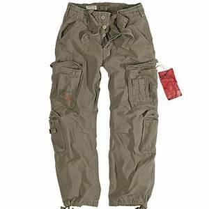 Surplus Mens Combats Trousers Work Wear Army Cargo Pants ...