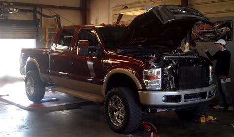 fsft  ford   king ranch  diesel dyno