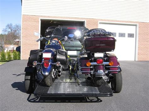 Trinity Mt3 Trailer  Motorcycle Trailer Review