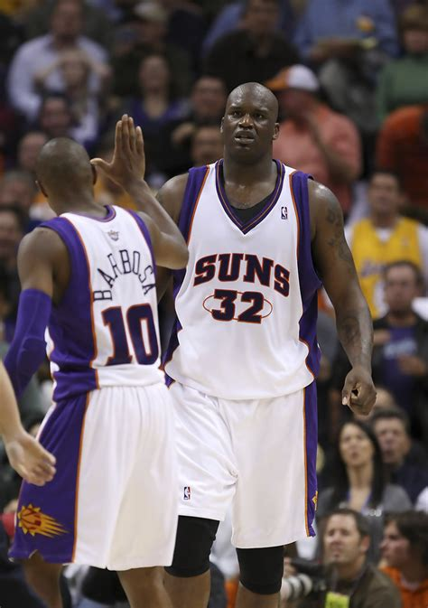 shaquille oneal   los angeles lakers  phoenix suns zimbio