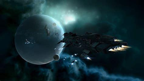 壁紙画像 » 惑星と宇宙船 A Planet And Spaceship