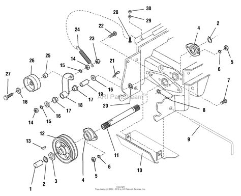 simplicity  legacy hp diesel parts diagram
