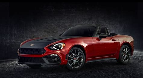 New Fiat Spider by 2018 Fiat 124 Spider Receives New Colors And Trims Carscoops