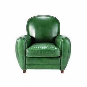 Fauteuil Vintage Maison Du Monde : fauteuil cuir vert vintage oxford maisons du monde ~ Teatrodelosmanantiales.com Idées de Décoration