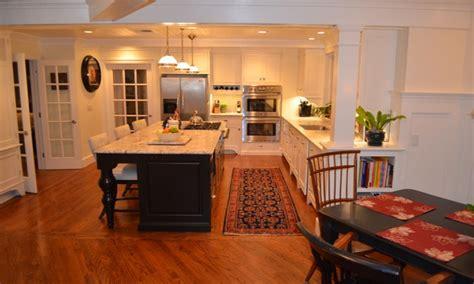 Oak kitchen floors, kitchen island with stove ideas