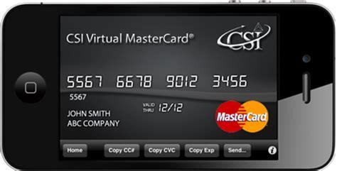 plafond paiement carte mastercard de la carte virtuelle au paiement mobile paperblog