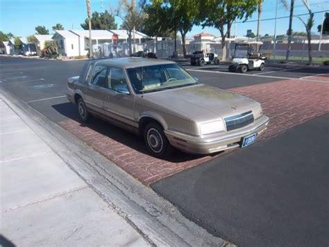 92 Chrysler New Yorker 92 chrysler new yorker 5th avenue 4 door exterior with