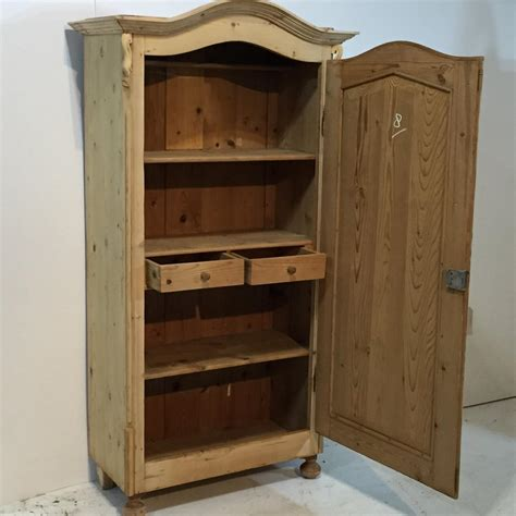 Linen Cupboard by Slim Antique Pine Arched Top Linen Cupboard Linen