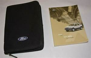 2004 Ford Escape Owners Manual Guide Book Set With Case