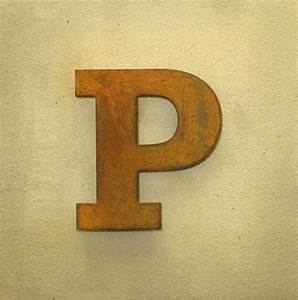 corten letter 18 05 15 metal letters With 18 metal letters