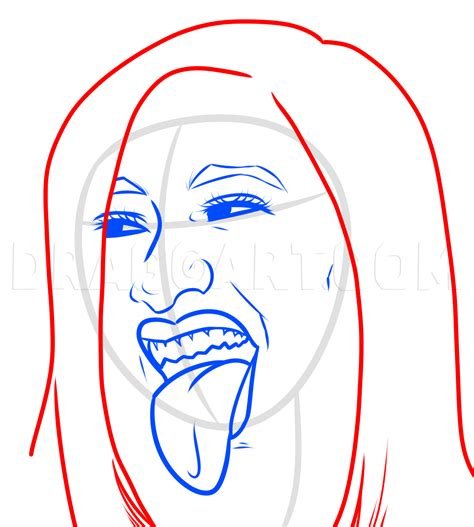 How To Draw Cardi B, Step by Step, Drawing Guide, by Dawn ...