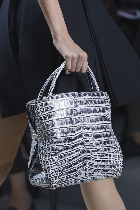dior bags   springsummer  runway collection spotted fashion