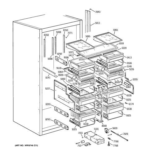 ge zirnmgrh refrigerator parts sears partsdirect