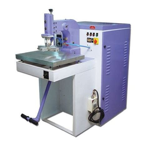 ble leather rexine embossing machine bansi lal