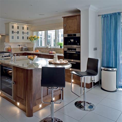 what is the best flooring for kitchens walnut kitchen kitchen design decorating ideas 9857