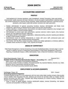 resume of accountant assistant 1000 images about best accounting resume templates sles on entry level