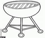 Barbecue Grill Churrasqueira Coloring Bbq Colorir Churrasco Printable Desenhos Malvorlagen Holzkohlegrill Tragbarer Carvao Ein Desenho Portatil Uma Craft Ausmalbilder Oncoloring sketch template