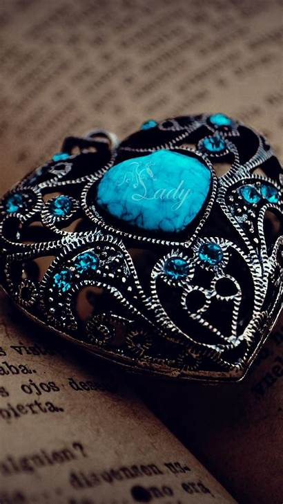 Jewelry Turquoise Books Pages Text Mobile Wallpapers