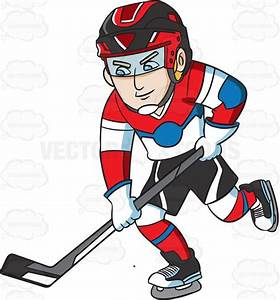 A Hockey Player Practicing Before A Game | Hockey and ...