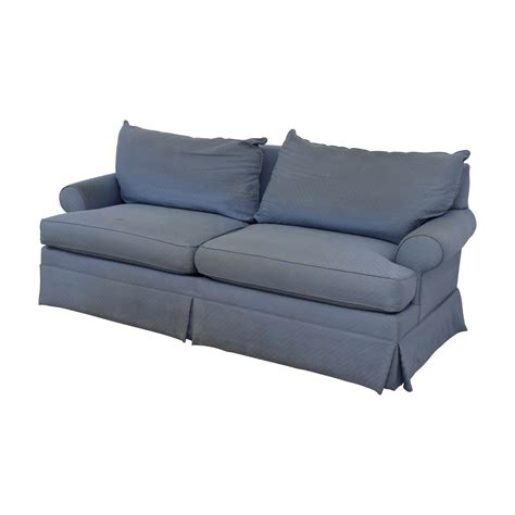 ethan allen sofas on sale 90 off ethan allen ethan allen blue two cushion sofa