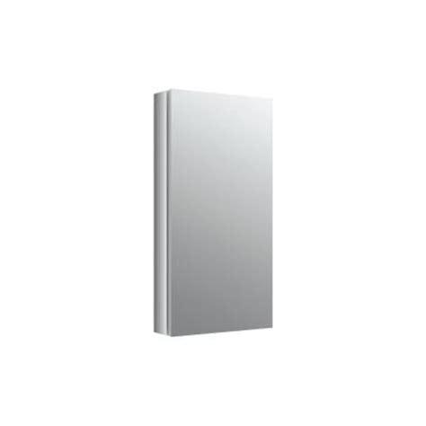 Verdera Aluminum Medicine Cabinet by Kohler Verdera 15 In W X 30 In H Recessed Medicine