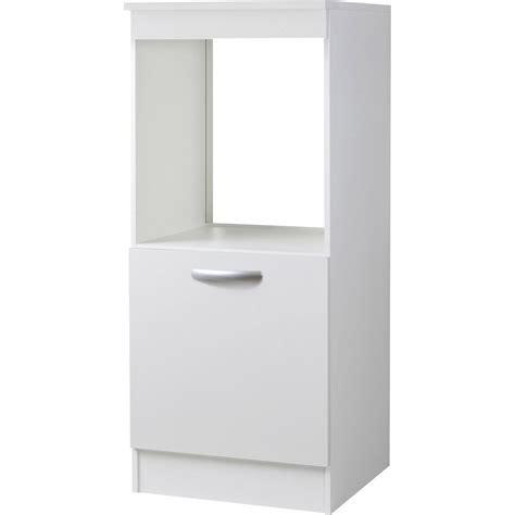 cuisine encastrable prix meuble de cuisine 1 2 colonne 1 porte blanc h140 4x l60x