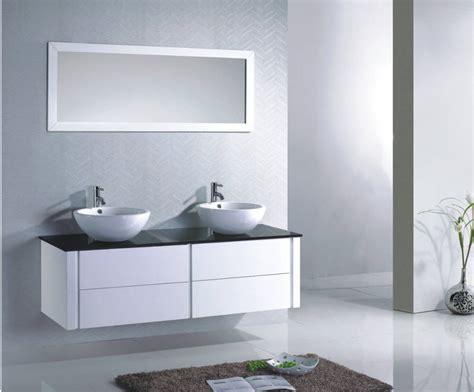 indogate meuble salle de bain noir et blanc