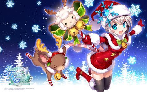 Merry Anime Wallpaper - merry メリークリスマス nyaa figurines