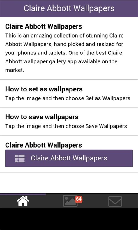 claire abbott wallpapers apk   android getjar