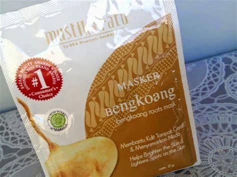 beauty review masker bengkoang mustika ratu nisya