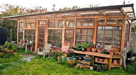 Greenhouse on a site of old frames with own hands (photo). The Art Of Up-Cycling: DIY Greenhouses, Build A Green ...