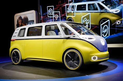 new volkswagen bus electric new volkswagen microbus concept revealed at detroit motor