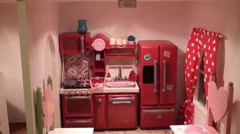 The Fascinating American Girl Doll House Tour 2013 (Raw
