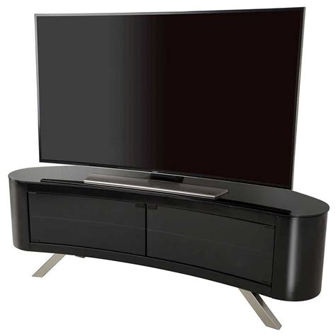 white plasma tv stands avf bay curved tv stand in black
