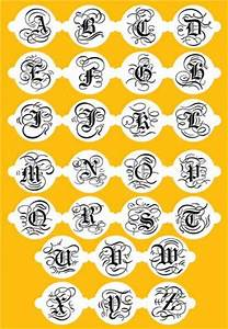 395 best images about stencils on pinterest workshop With letter cookie stencils