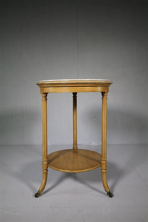 antique marble top side table english 19th century antique marble top side table