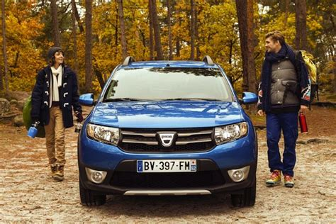 Sandero Makes Podium 100% Dacia